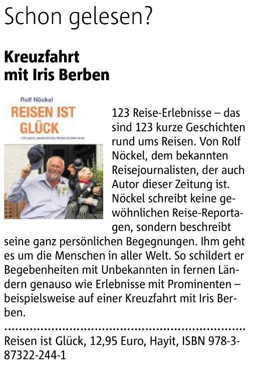 Ruhr Nachrichten 19.09.15